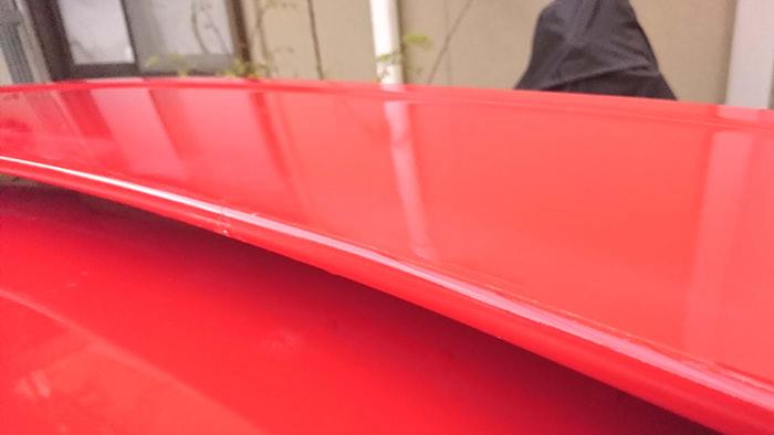 車のボディ【クリア剥がれ】をたった1日でDIY補修する方法|経年劣化