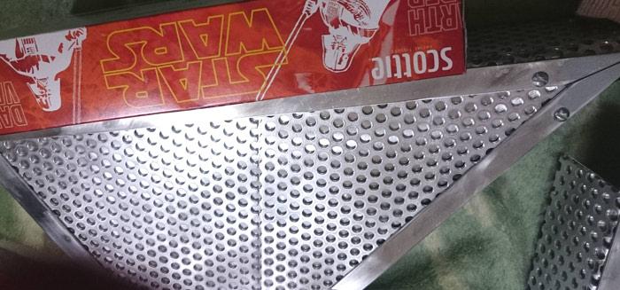 バイク【かっこいいサイドカバー】をアルミ板で自作する方法とコツ