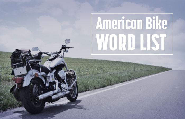 【アメリカンバイクカスタム用語】一覧まとめ|初心者必見の101用語
