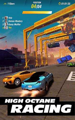 ワイスピのソーシャルゲーム【Fast&Furious Take Down】に事前登録した