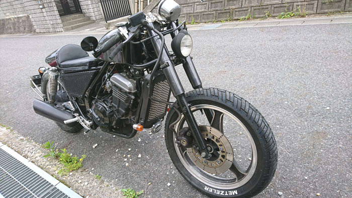 バイクをカフェレーサー系にカスタムするのにかかる【改造費用目安】