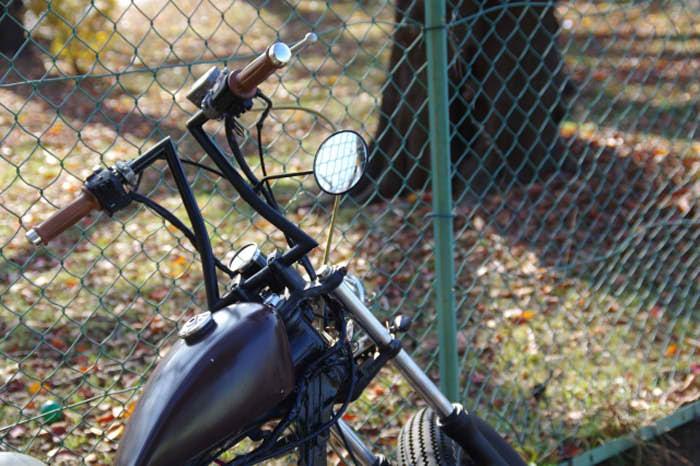 アメリカンバイクミラーの写真