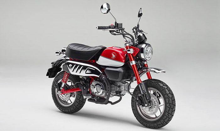 趣味も兼ねる125ccバイク モンキー125