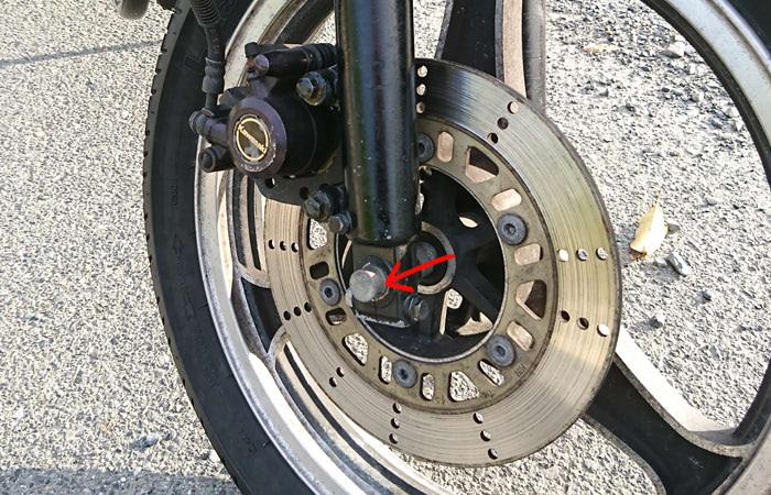 バイクのエアバルブ交換方法