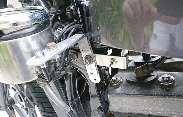 【バイク】 スイッチ メーター インジケーター移設をイイ感じに自作