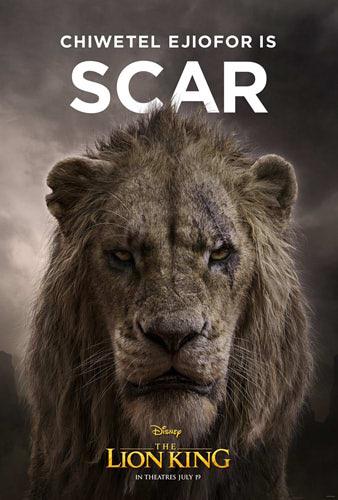実写版【ライオンキング】が実写じゃない。スカーが黒くない、プンバァが怖い