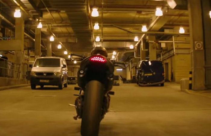 『ワイルド・スピード/スーパーコンボ』に登場するトライアンフ・スピードトリプル