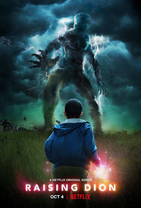 Netflixドラマ『レイジング・ディオン』のポスター