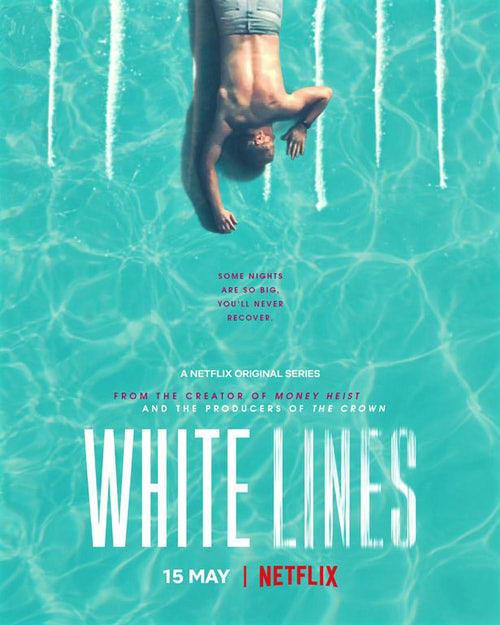 ホワイトラインのポスター