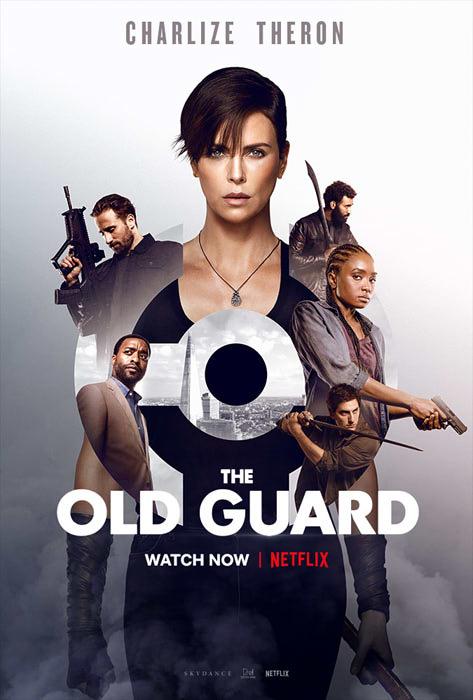 Netflixオリジナル映画『オールド・ガード』のポスター
