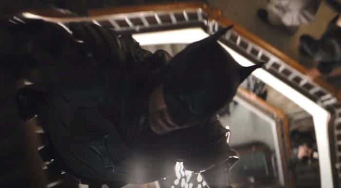 ロバート・パティンソン as バットマン / ブルース・ウェイン