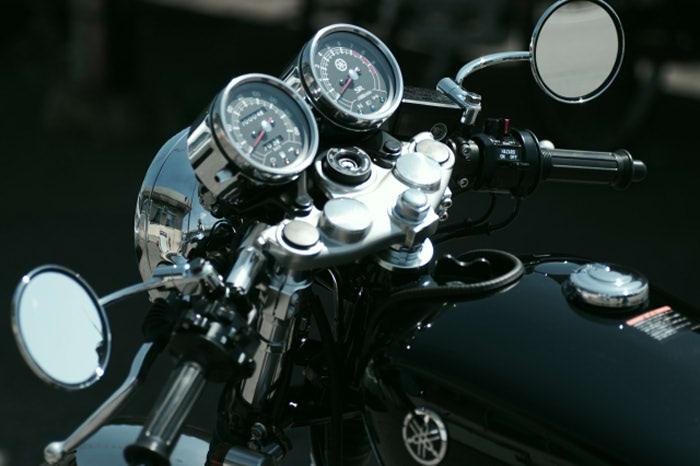 バイクカスタム後に眺めている時間が一番好き