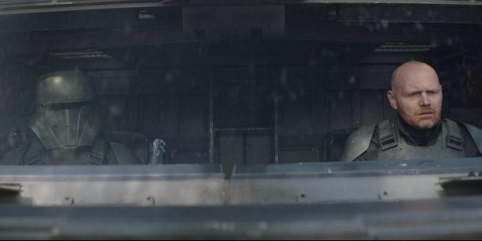 ドラマ『マンダロリアン』シーズン2「チャプター15 信奉者」の一場面