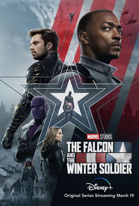 『ファルコン&ウィンターソルジャー』のポスター