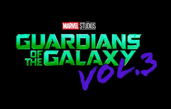 ガーディアンズ・オブ・ギャラクシー Vol.3のロゴ