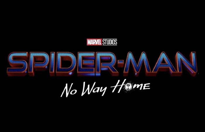 スパイダーマン: ノー・ウェイ・ホームのロゴ