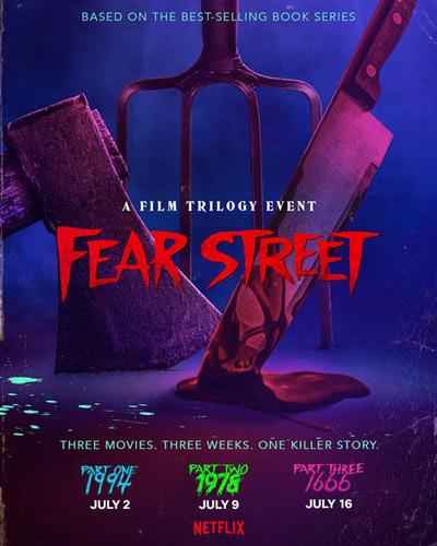 『フィアー・ストリート』のポスター