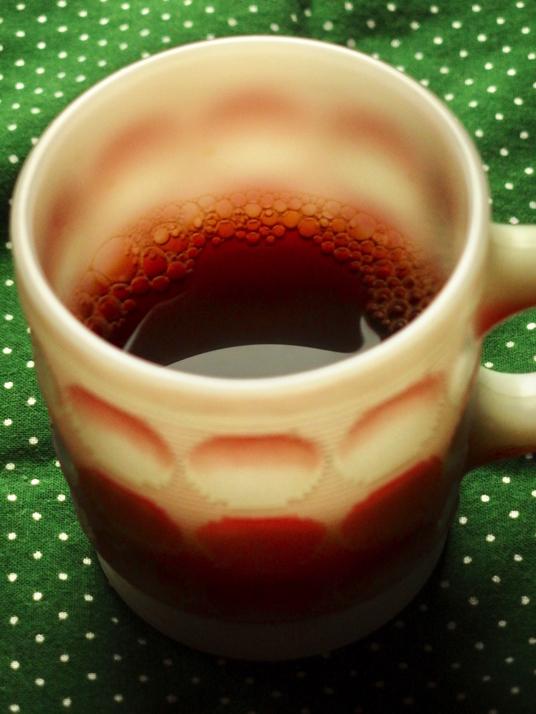 コーヒー淹れた