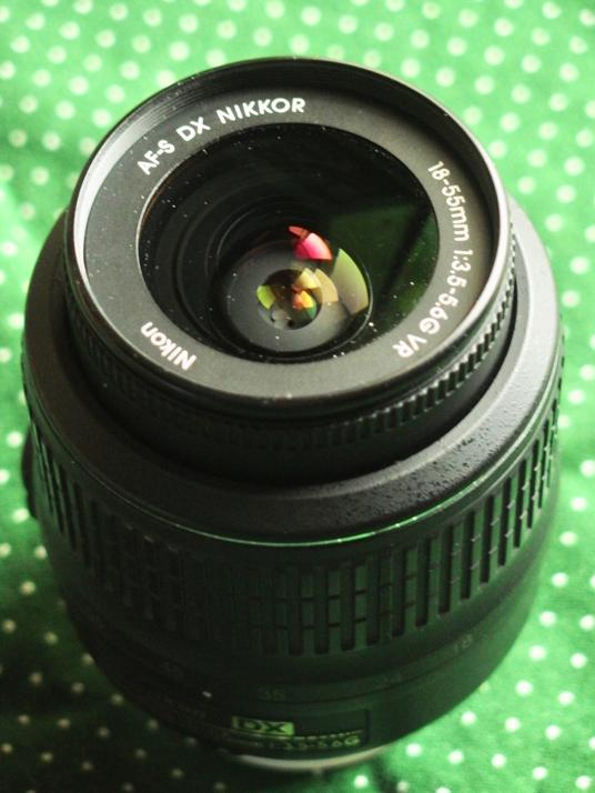 AF-S DX VR Zoom-Nikkor 18-55mm f/3.5-5.6G