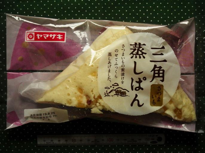 三角蒸しパン