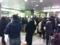2011/3/11 19:18 新線新宿駅改札口
