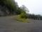 笹谷峠へ登る道
