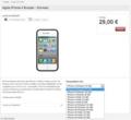 iPhone 4S Vodafone.de
