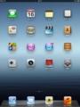 iPad3 ホーム画面(2048×1536ピクセル)
