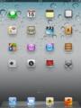 iPad2 ホーム画面(1024×768ピクセル)