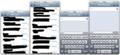 iPhone5を4インチ液晶にした場合 iPhone4Sとのサイズ比較 メッセージアプリ