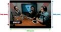 iPhone5を4インチ液晶にした場合 iPhone4Sのビデオ再生画面