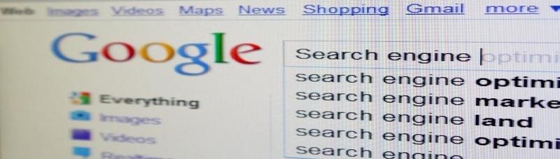 Google Main Search