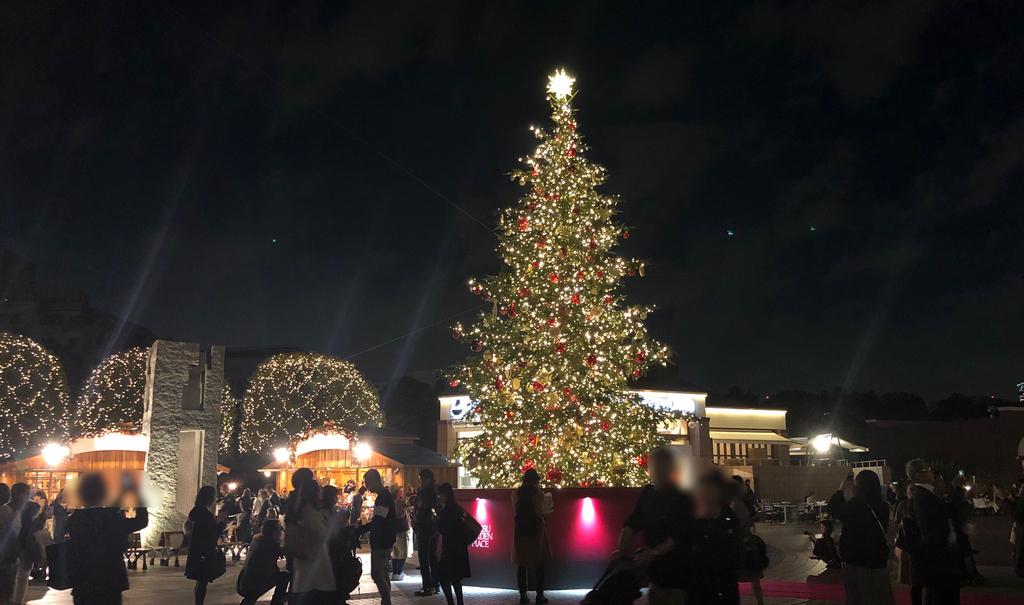 恵比寿ガーデンプレイスのクリスマスイルミネーション