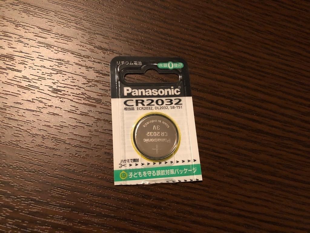 コイン電池:CR2032