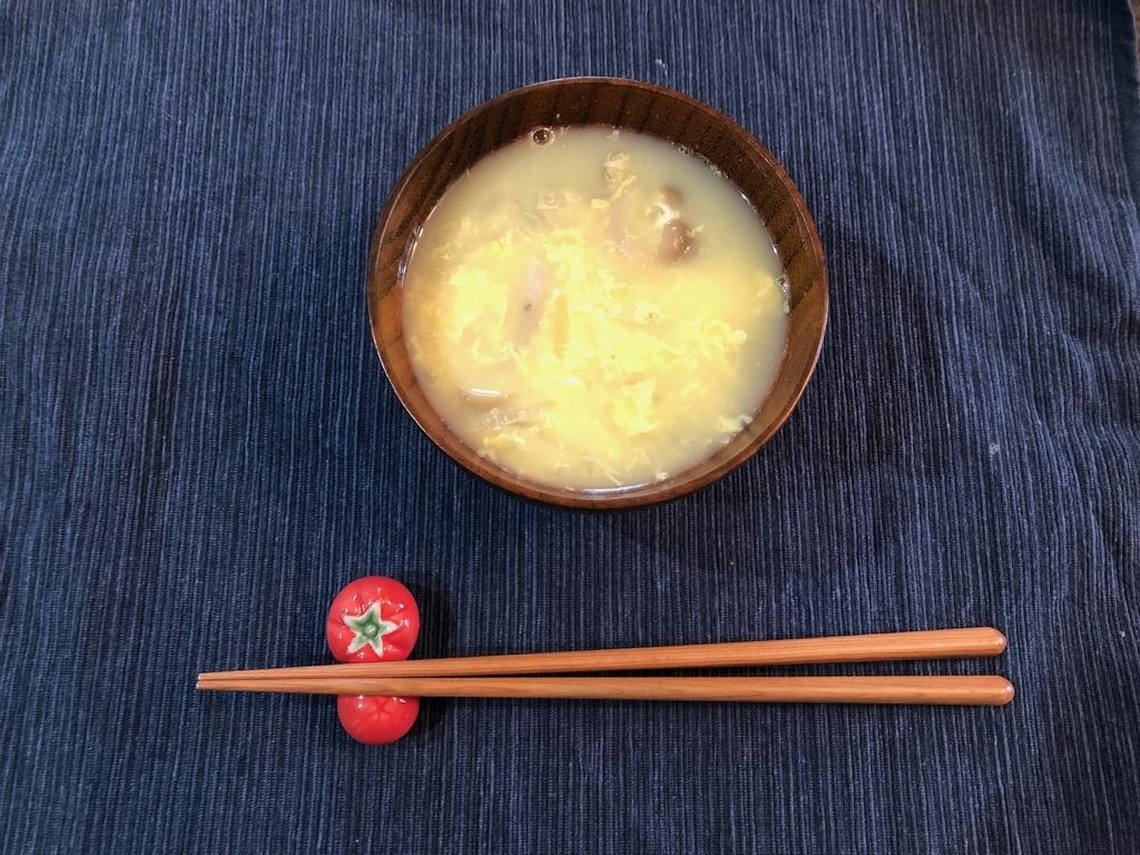 しめじと玉ねぎの卵スープのレシピ