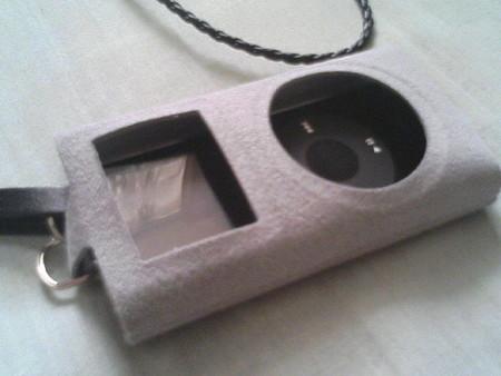 iPod nano with iPod mini case