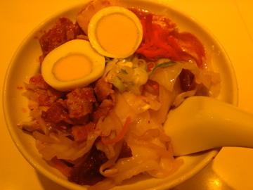 蒙古丼(ハーフ)