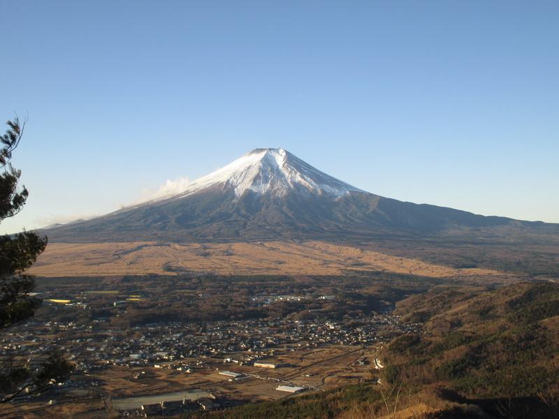 高座山から(杓子山登山)2017/12