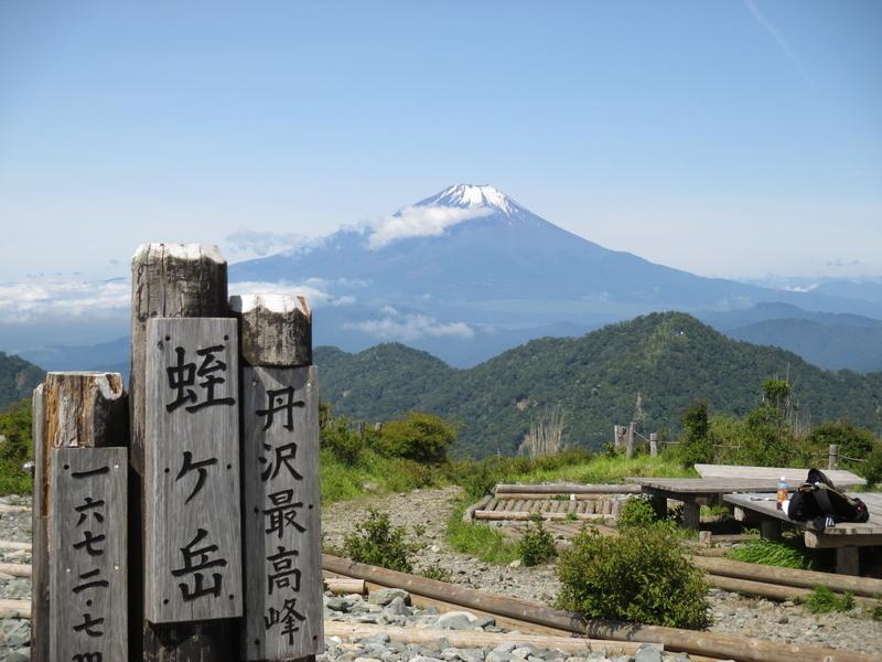 蛭ケ岳から 2017/6