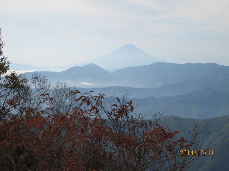 雲取山から 2014/10