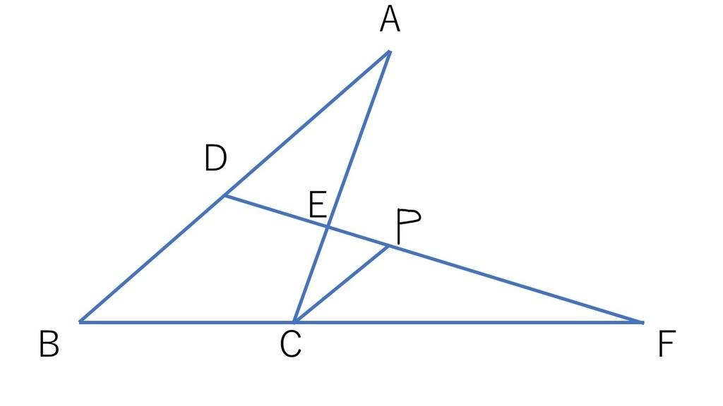 定理 メネラウス の
