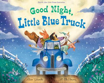 英語絵本 Good Night, Little Blue Truck by Alice Schertle & Jill McElmurry