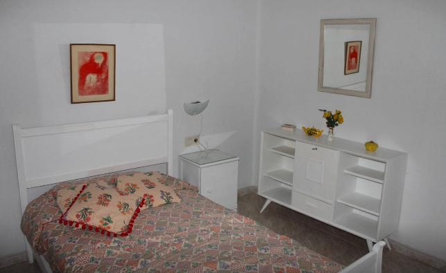 Airbnbの宿個室内の様子