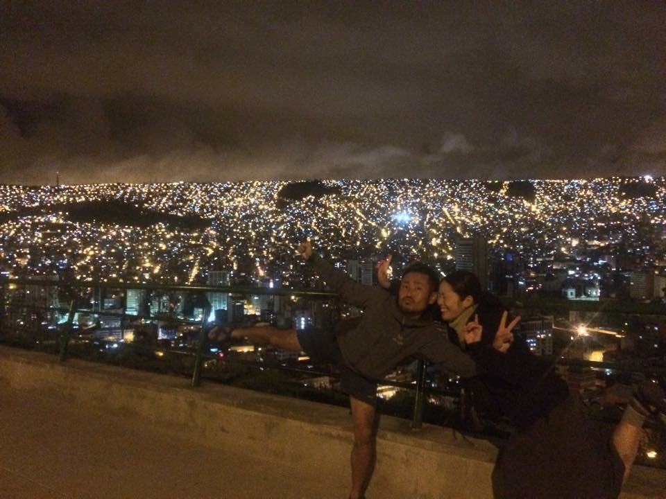 キリキリ展望台からの夜景その2