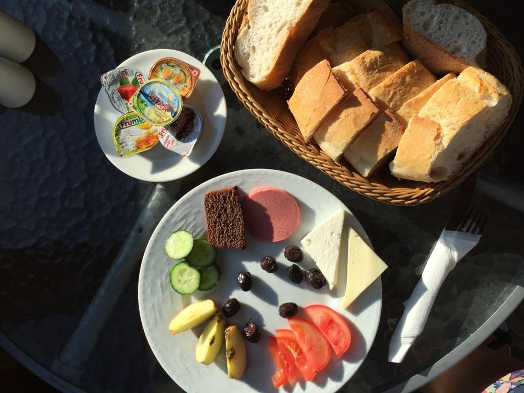 宿で出るおいしい朝食