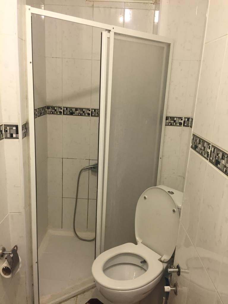 共用トイレシャワーの様子