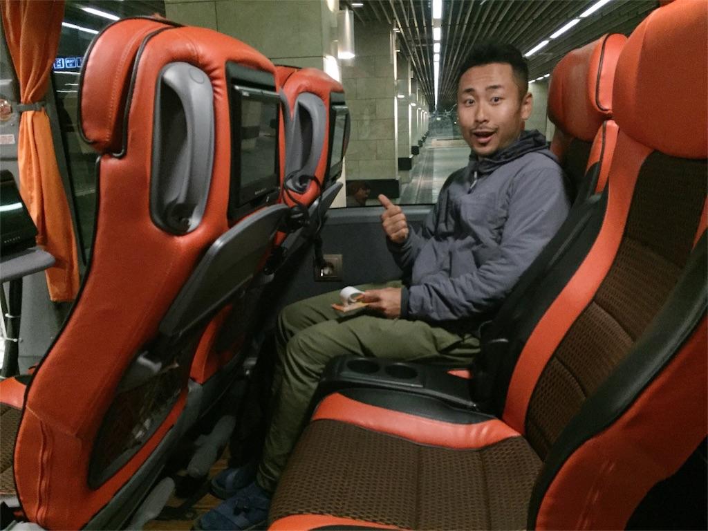 快適なトルコの夜行バス