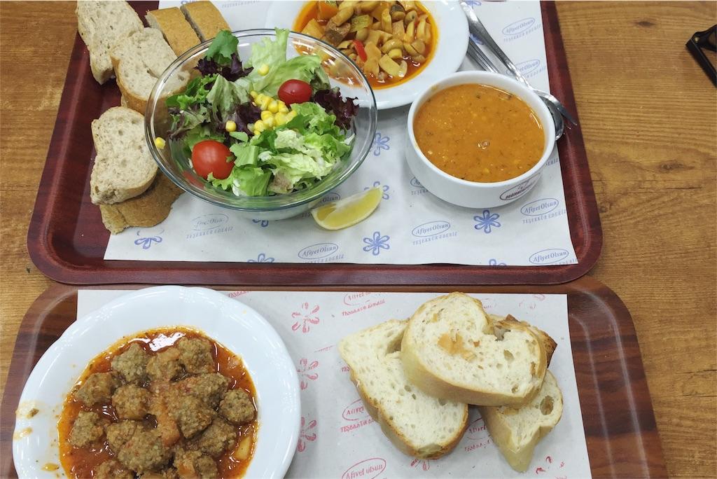 イスタンブールのロカンタの食事