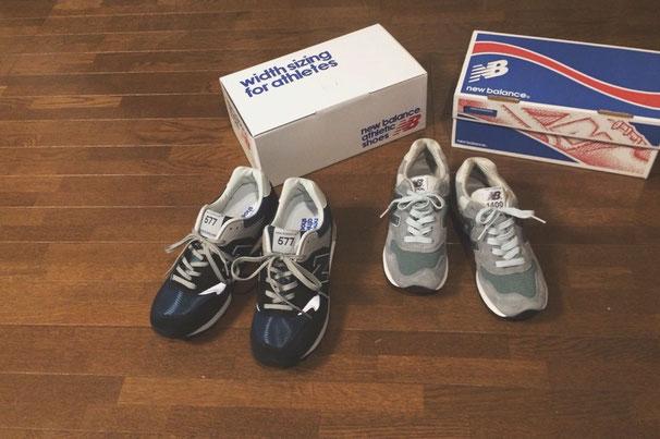 私たちのメインの靴 2人そろってnewbalance