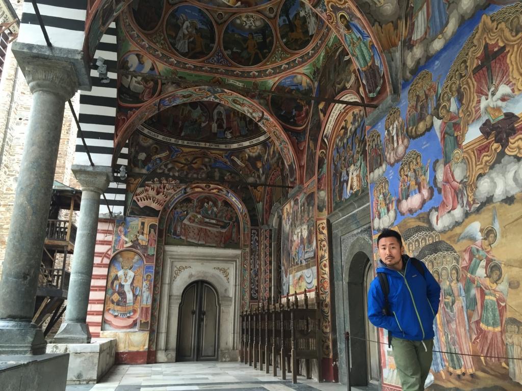 ブルガリアでの唯一の観光リラの僧院